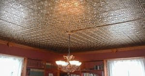 Tin ceiling panels easy installation