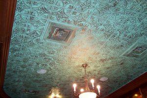 Faux Tin Ceiling Tile 309 Glue up