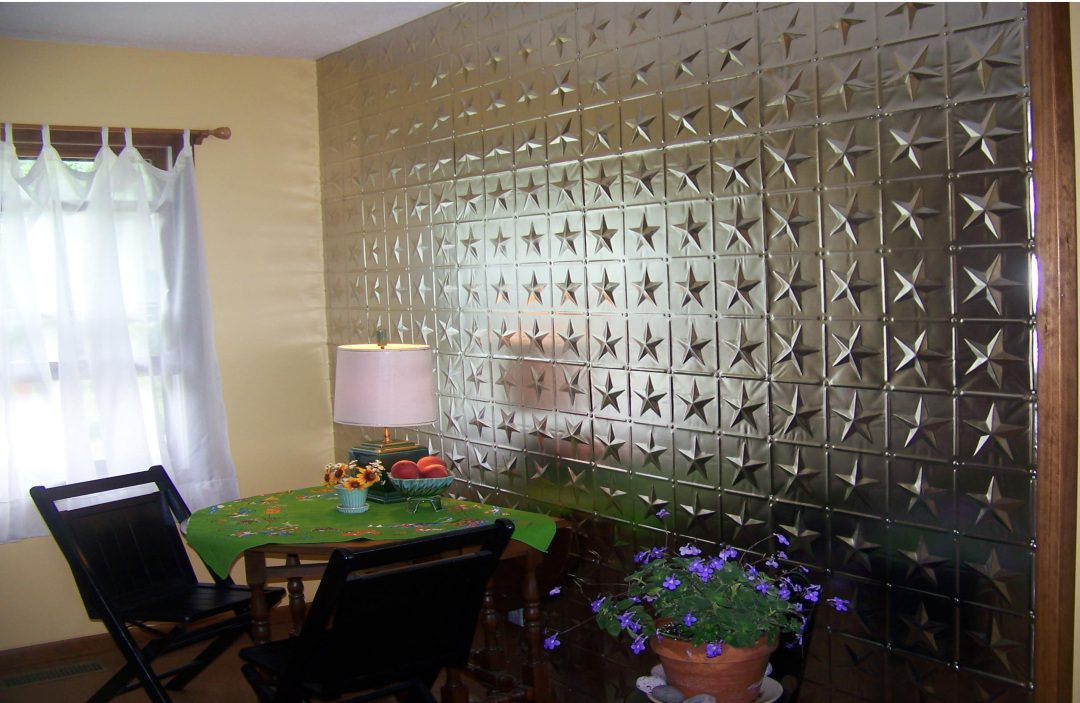Star Metal Tin Ceiling Wall Covering Surfacingsolution
