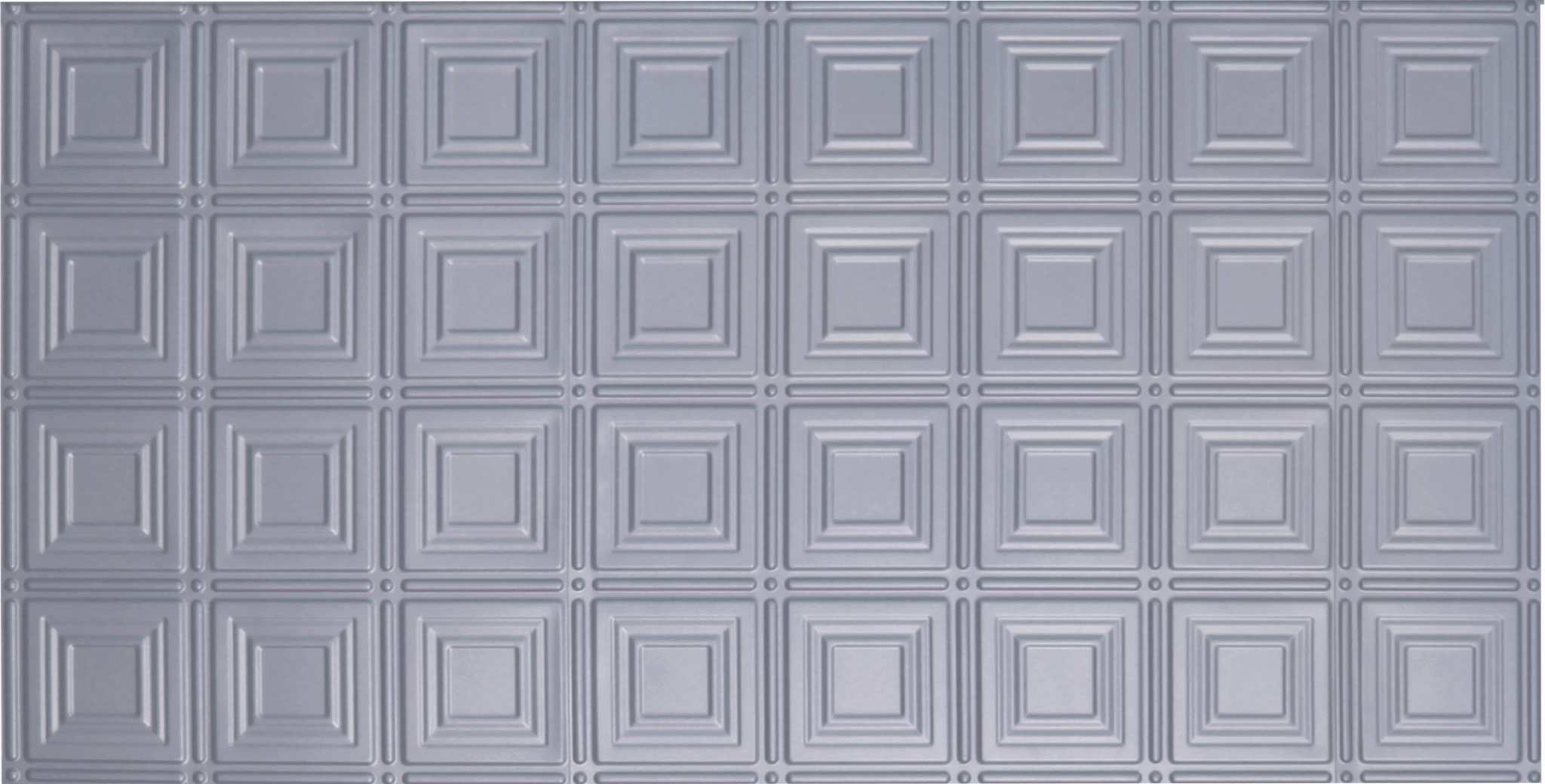 Faux tin ceiling tiles surfacingsolution nickel 204 2x4 faux tin ceiling tile dailygadgetfo Gallery