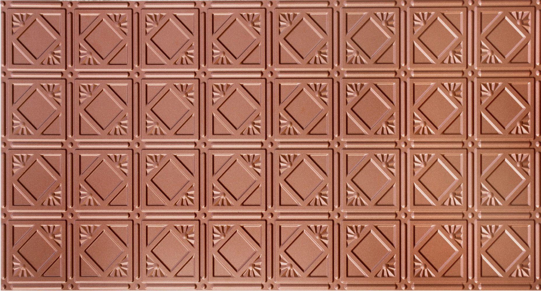 Ceiling tiles as backsplash