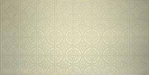2'x4' creme faux tin ceiling tile
