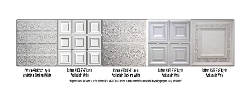 lay in ceiling tile tin style t grid drop ceiling panel