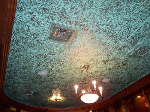 faux tin patina decorative tin ceiling tile