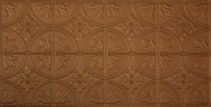 Fused Bronze #309 2'x4' Faux tin ceiling tile