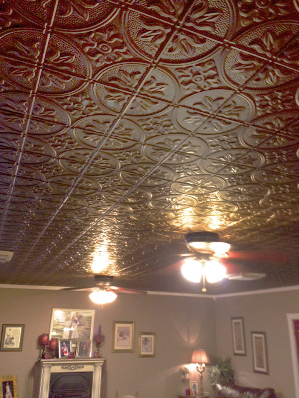 Thermoform ceiling tiles