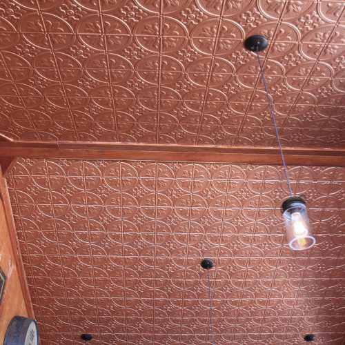 faux tin ceiling decorative tin panels