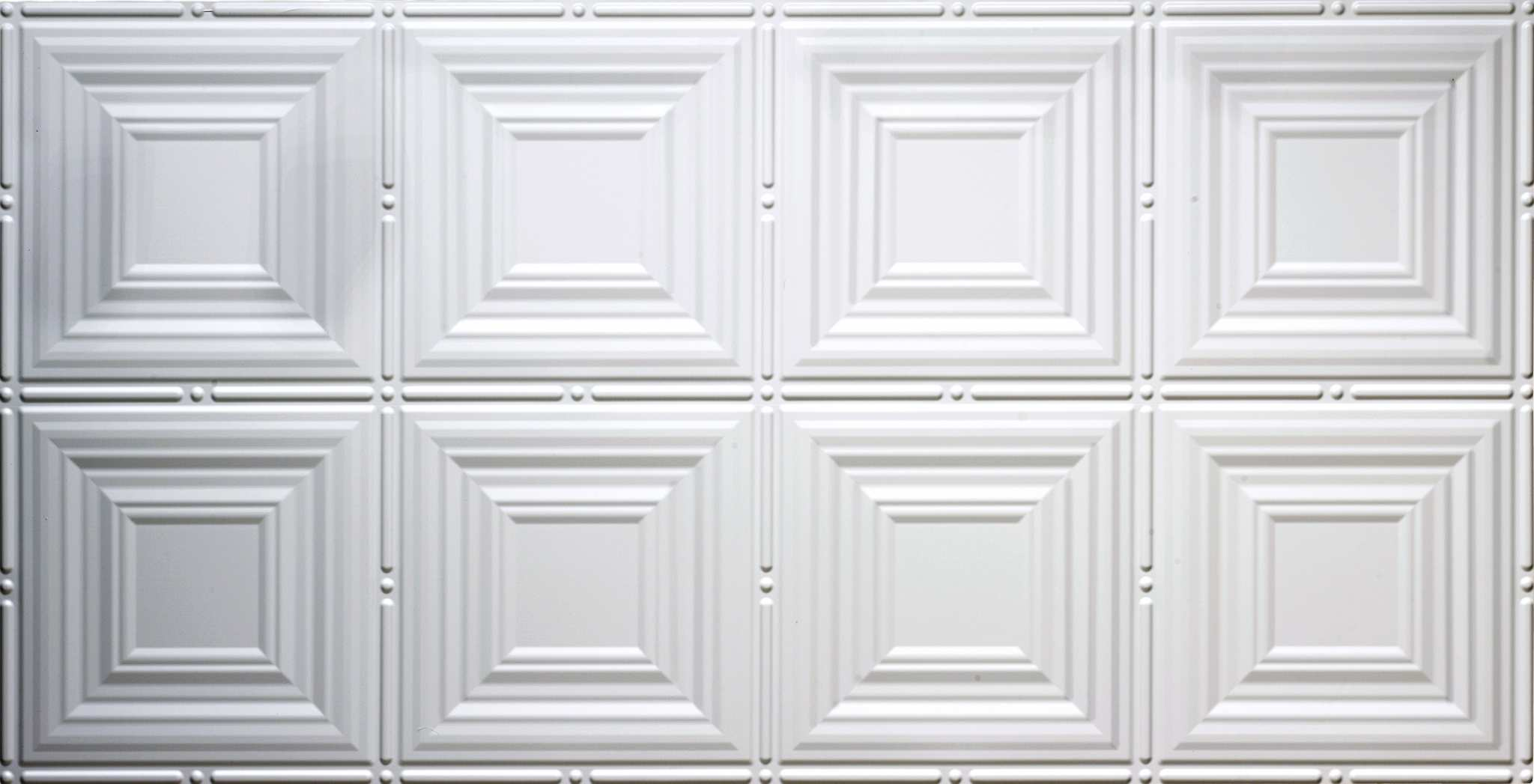 decorative-faux-tin-ceiling white