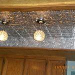 Painted #209 decorative kitchen ceiling tiles