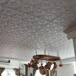 White #209 decorative kitchen ceiling tiles