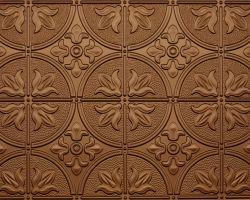 Fused Bronze #309 2'x4' Faux tin ceiling tile