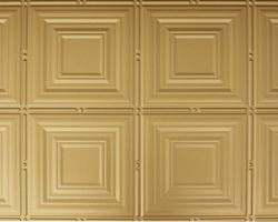 decorative-faux-tin-ceiling brass