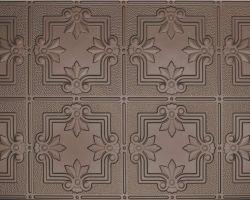decorative-faux-tin-ceiling bronze