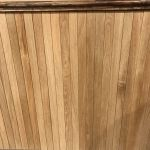 White oak wall paneling wainscot