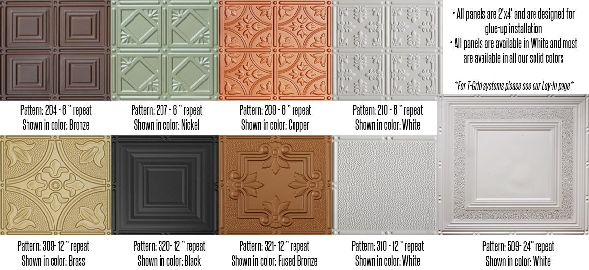Faux Tin Ceiling Tiles Surfacingsolution