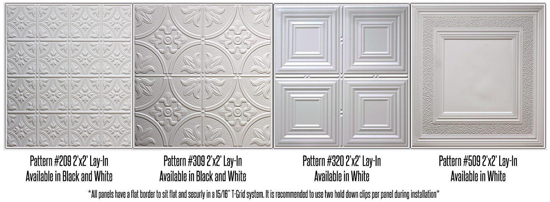 faux tin 2x2 ceiling tiles - 2 X 2 Ceiling Tiles