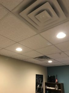 faux tin lay in ceiling tile