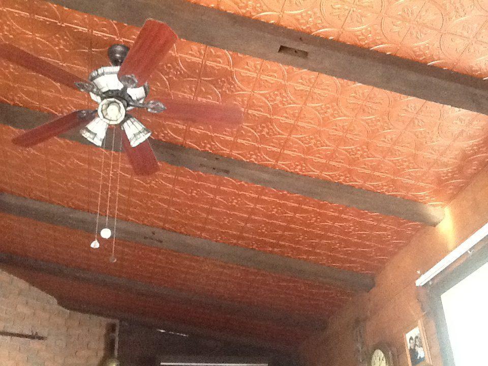 Lifestyle 309 Copper2 Decorative Tin Ceiling Tiles