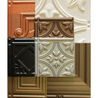 decorative tin ceiling tiles sample kit