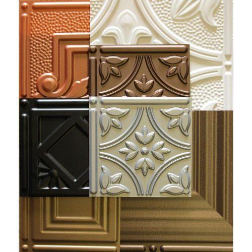 decorative tin ceiling tiles sample kit