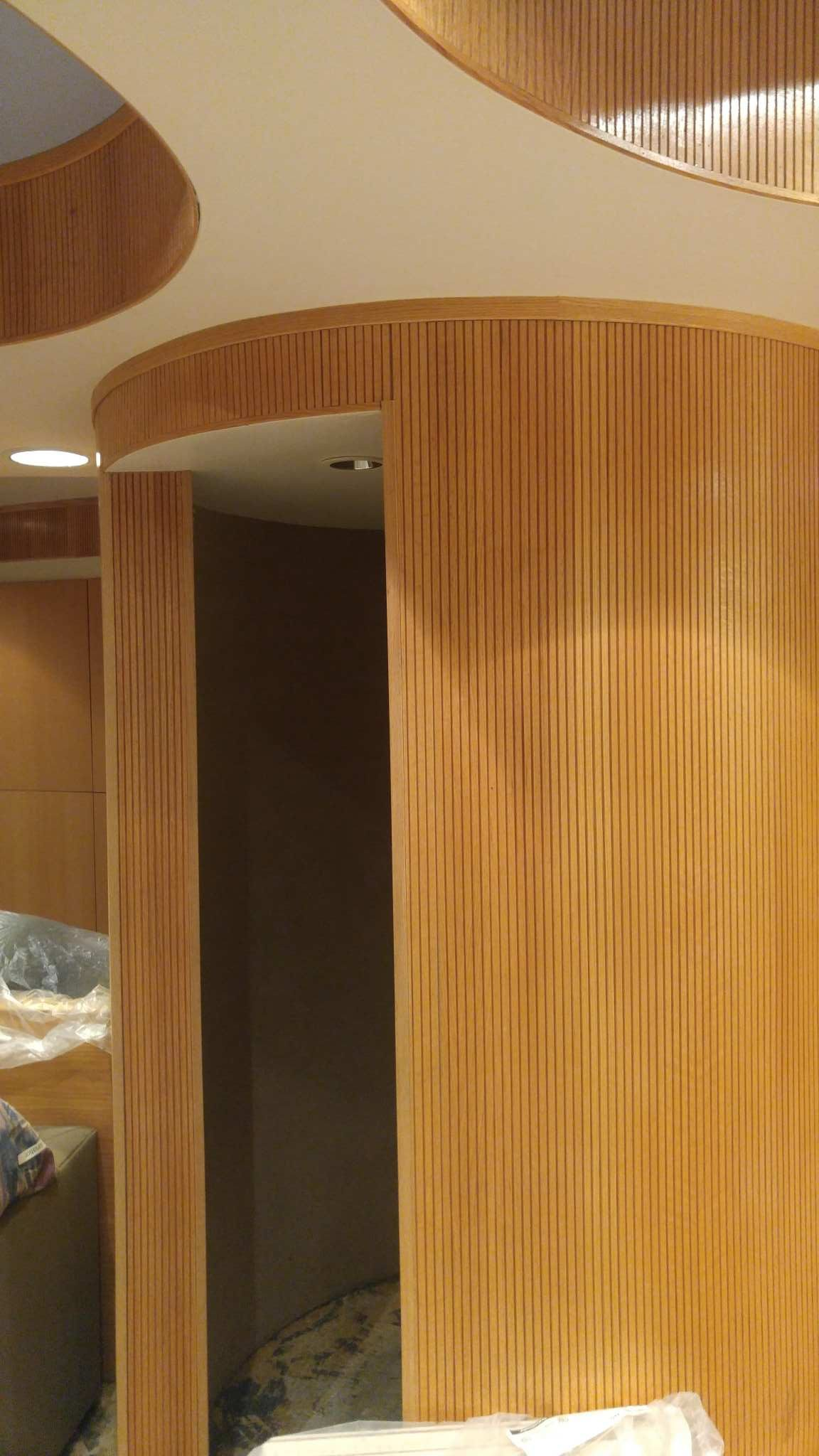 Tambour Panels Solid Wood And Veneers Surfacing Solution