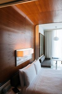 tambour wall paneling wood wallcovering